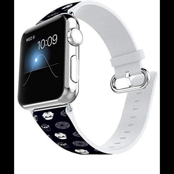 Apple Accessories - Apple Watch band Star Wars Darth Vader Leather 🆕